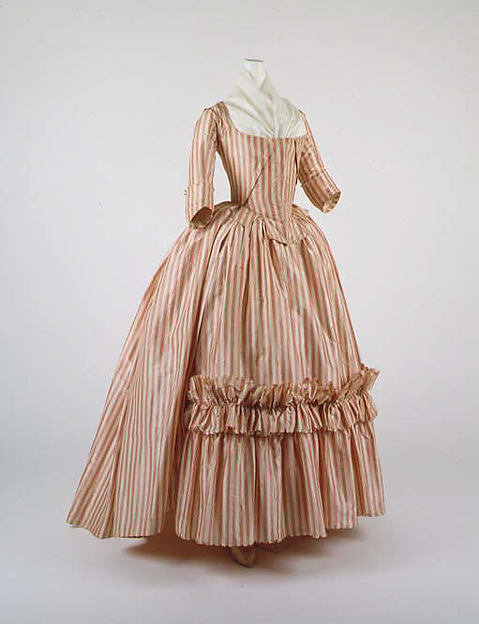 a7c9c7a28d2 The Met - Robe a l Anglaise with a