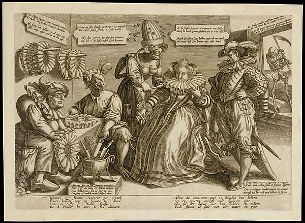 Fascinating Historical Picture of Maerten de Vos with The Pride of Women| Ruffs in 1600