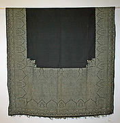 Mourning shawl
