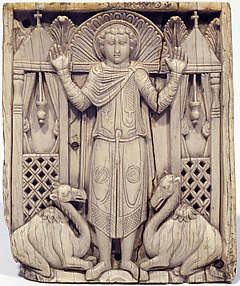 Ivories of the So-Called Grado Chair: Saint Menas with Flanking Camels