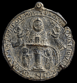 Pilgrim Token with Image of Saint Symeon Stylites the Younger
