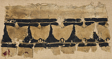 Fragment of a Wall Hanging with Floral Decoration