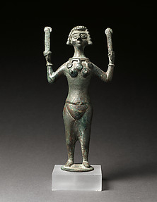 Statuette of a Woman Playing Crotales