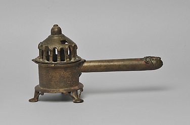Censer with a Rams Head Handle