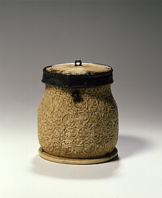 Pyxis with Vine Scrolls
