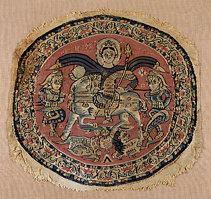 Roundel with a Byzantine Emperor, Probably Heraclius