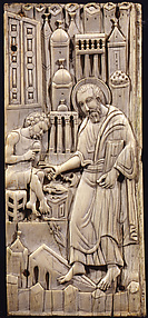 Ivories of the So-Called Grado Chair: Saint Mark Healing Anianos