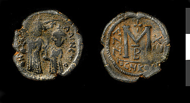 Follis of Persian Occupation