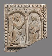 Relief with the Annunciation