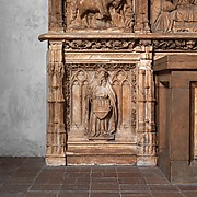 Altar Predella and Socle of Archbishop Don Dalmau de Mur y Cervell