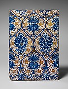 Lusterware Tile