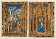 The Annunciation from the Hours of Charles of France
