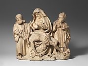 Pietà with Saint Nicholas and Saint James the Great