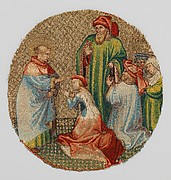 The Empress Kneels Before Saint Martin
