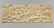 Panel with Hunting Scenes