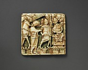 Plaque with Christ Before the High Priest Caiaphas