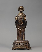 Priest holding a Reliquary