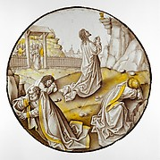 Roundel with Agony in the Garden