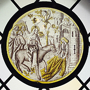 Roundel with Entry into Jerusalem