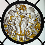 Roundel with Martyrdom of Saint Leger