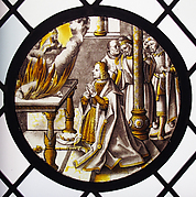 Roundel with Sacrifice in the Temple