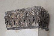 Impost Capital with Acanthus Leaf Decoration