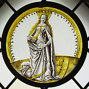 Roundel with Saint Catherine of Alexandria