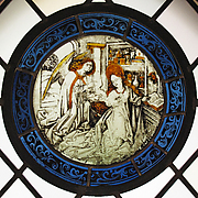 Roundel with the Annunciation