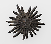 Pilgrim's Badge with Sun with human face