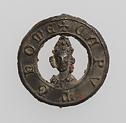 Pilgrim's Badge with head of Saint Thomas à Becket