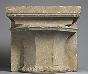 Column Base with Shaft Fragment