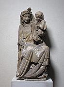Seated Virgin and Child