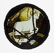 Roundel with Winged Ox