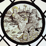 Roundel with the Flight into Egypt