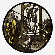 Roundel with the Hanging of Haman