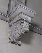 Corbel with Fore Portion of Beast with Bone