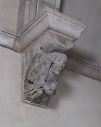 Corbel with Female Figure with Clasped Hands