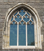 Window with Flamboyant Tracery