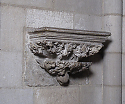 Corbel from the Double Sepulchral Monument of Don Àlvar Rodrigo de Cabrera, Count of Urgell and Viscount of Ager and his wife Cecilia of Foix