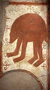 Fresco, with bear
