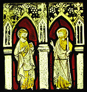 Panel with Two Apostles