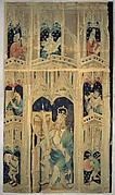Julius Caesar and Attendants (from the Nine Heroes Tapestries)