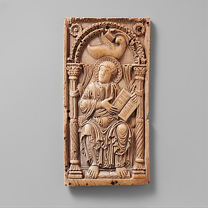 Plaque with Saint John the Evangelist