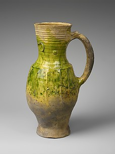 Green Glazed Pitcher