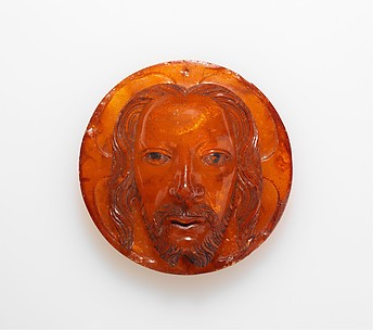 Medallion with the Face of Christ