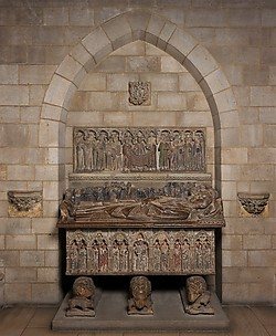 Tomb of Ermengol VII, Count of Urgell
