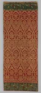 Wall Hanging, with Pomegranate Pattern
