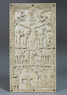 Plaque with the Crucifixion and the Holy Women at the Tomb