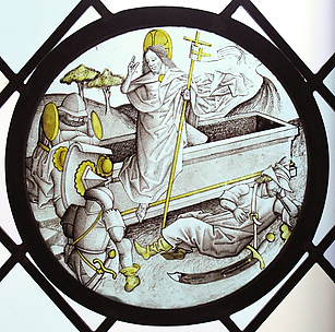 Roundel with the Resurrection