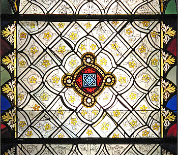 Window with Grisaille Decoration